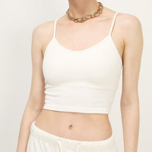 Simple Fashion Women Cheap Price Spaghetti Strap Top