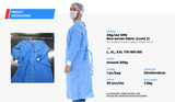 Protective Medical Suits Gowns L2 - supply disaster covid 19 medical supplies wholesale and retail