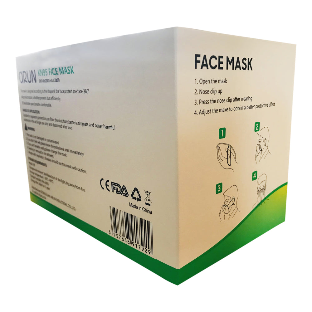 KN95 FDA Approved Medical Antibacterial Mask for COVID 19 ...