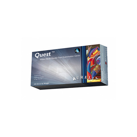 Quest Nitrile Powder-Free Examination Gloves - supply disaster covid 19 medical supplies wholesale and retail