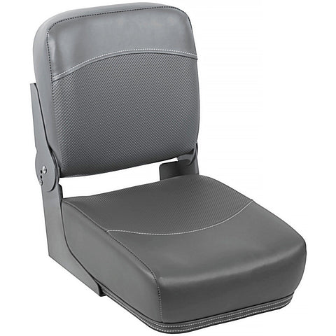 "12"" Bass Boat Buddy Seat Charcoal"
