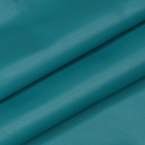 Teal boat seat vinyl upholstery