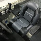 4 Piece Compact Bass Boat Seats