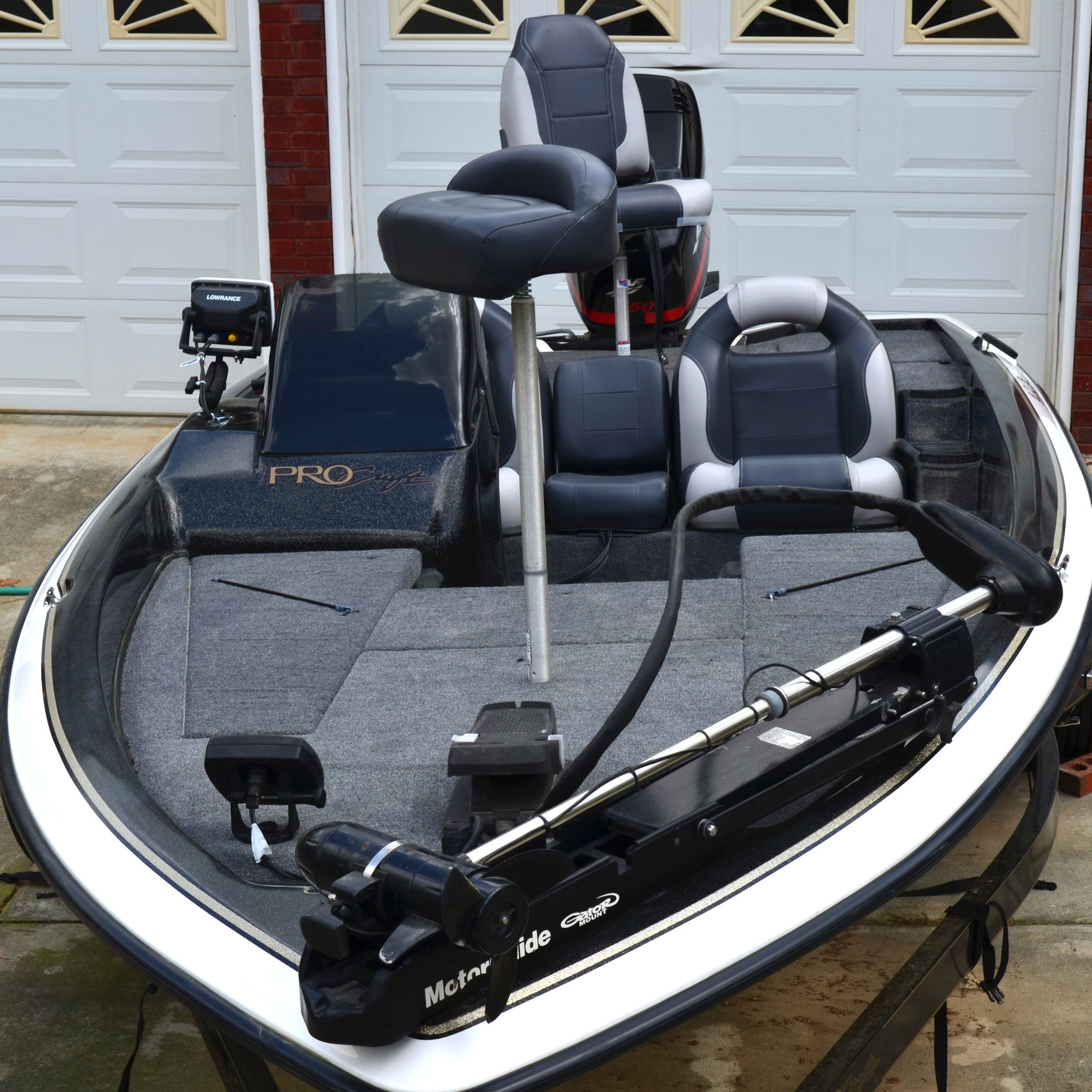 Bass Boat Seat Interior 2 | Boat Seats