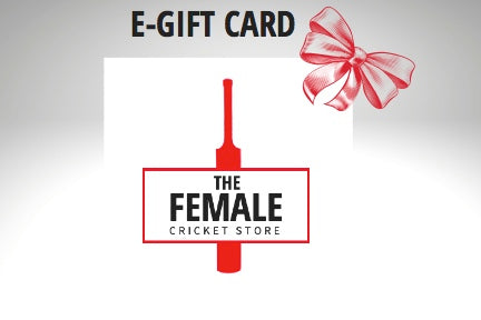 The Female Cricket Store Gift Card