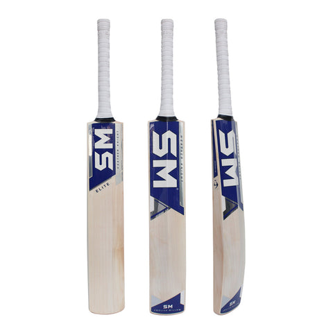 SM HK Elite Cricket Bat - Short Handle (English Willow Grade 1)