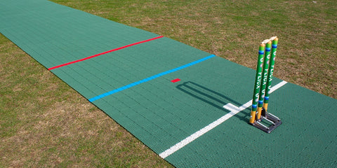 Flicx 2G Match Pitch for Women and Girls Multi Age Group Cricket