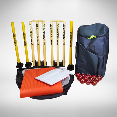 Hard ball cricket equipment package
