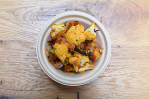 Cauliflower w/ Curried Tomato