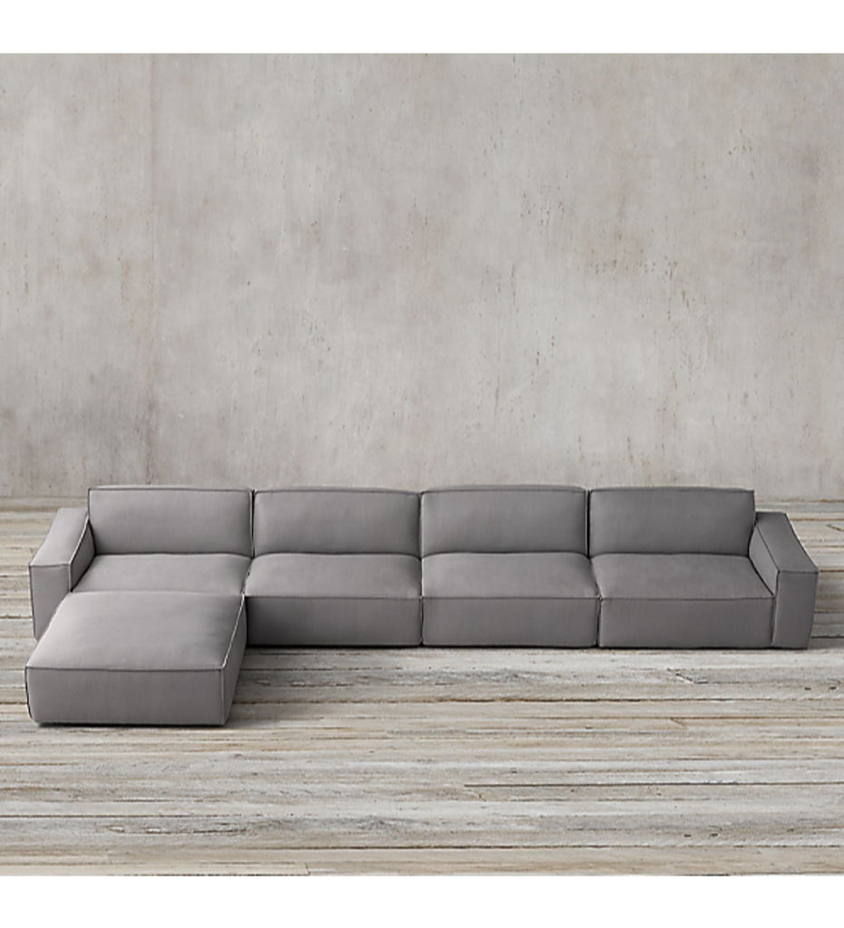 Athens Modular Chaise Sectional Sofa Sets The Fluffy Company
