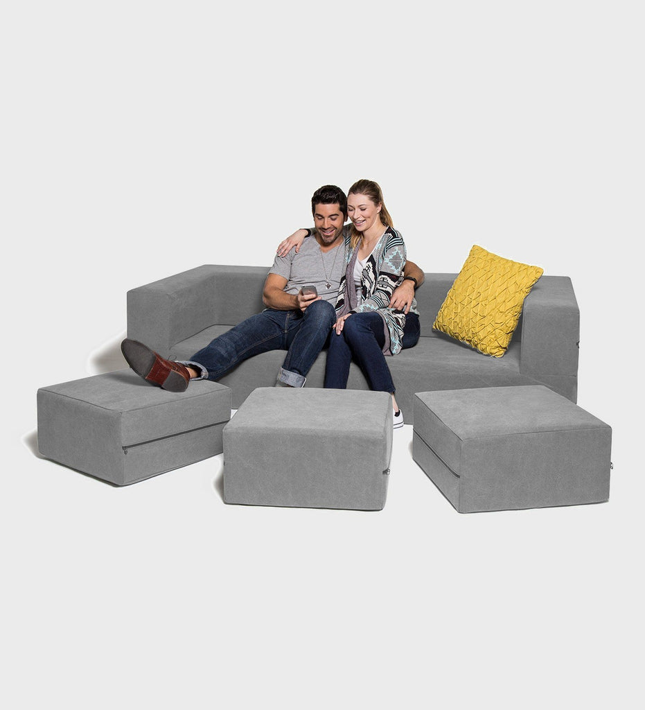 Paris - The Three Seater Sofa / King Size Bed Sofa Sets The Fluffy Company