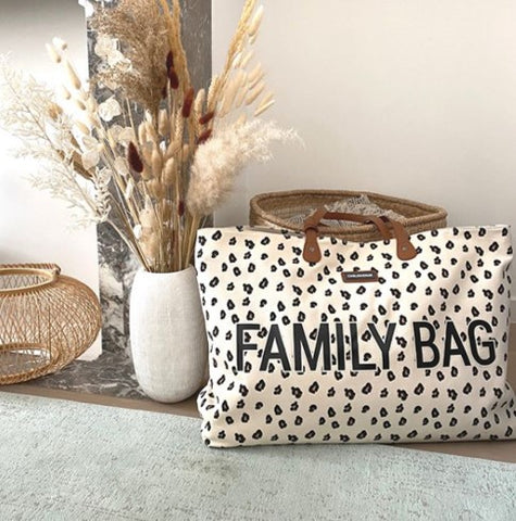 FAMILY BAG LEOPARD PRINT