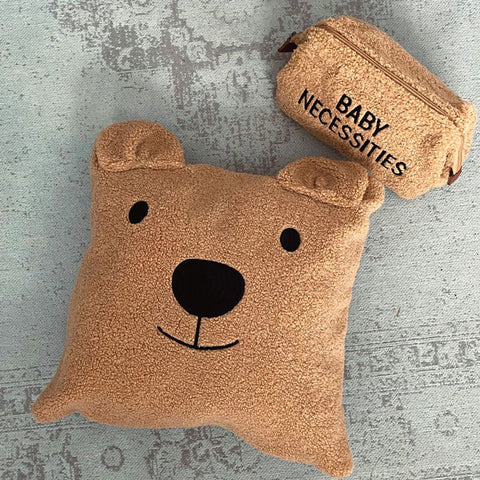 BABY NECESSITIES TOILETRY BAG TEDDY