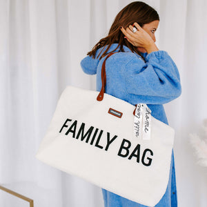 FAMILY BAG TEDDY OFF-WHITE