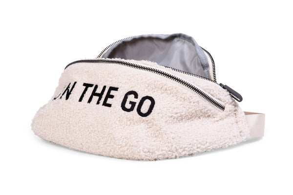 ON THE GO BANANA BAG TEDDY OFF-WHITE