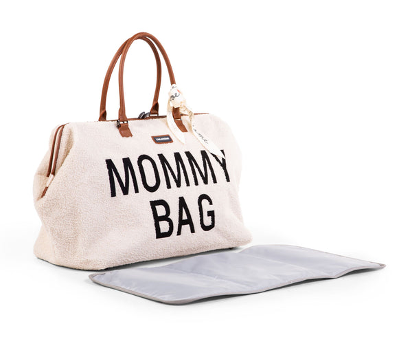 MOMMY BAG TEDDY OFF-WHITE