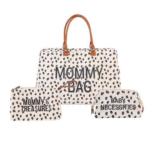 MOMMY BAG BUNDLE LEOPARD PRINT