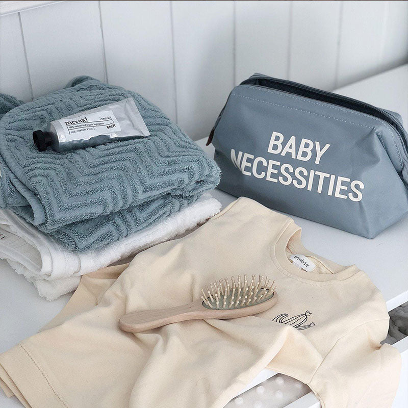 BABY NECESSITIES TOILETRY BAG CLASSIC COLOURS