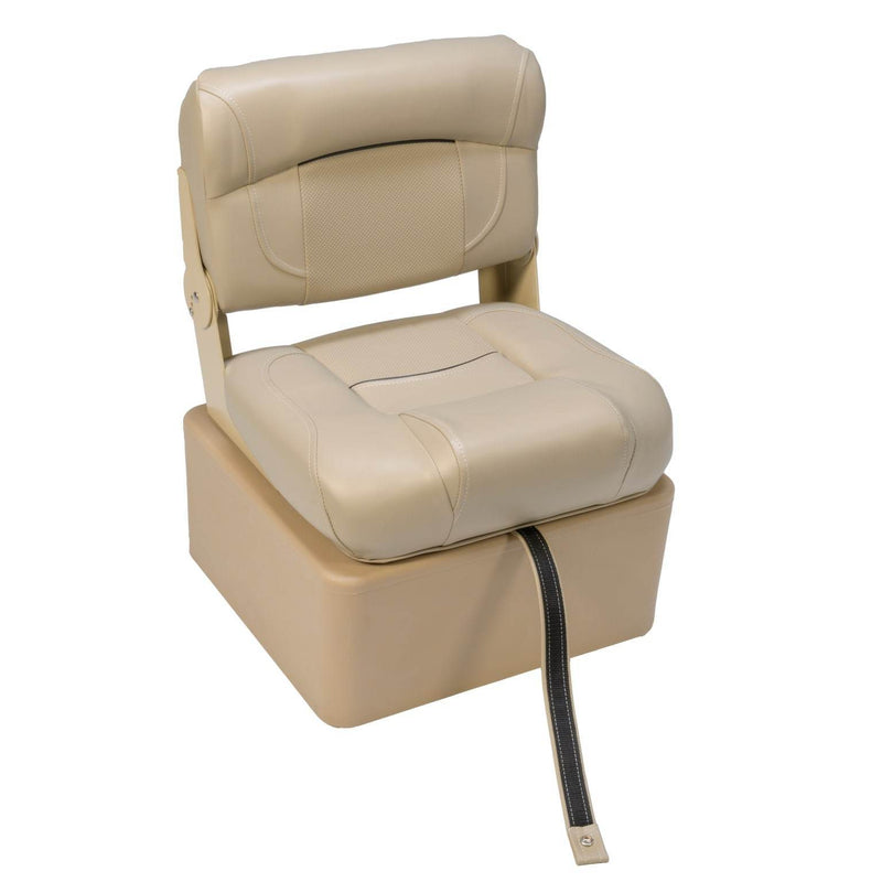 Hinge Mount Low Back Seat with Seat Box