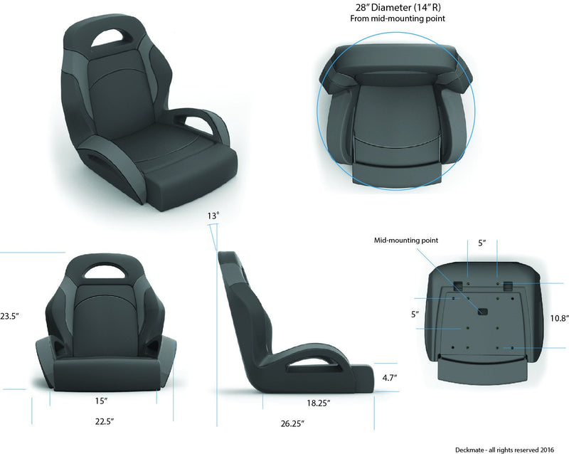 Bass Boat Bucket Seats