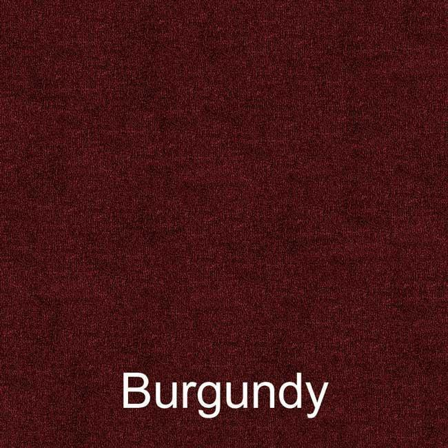 16oz burgundy pontoon boat carpet