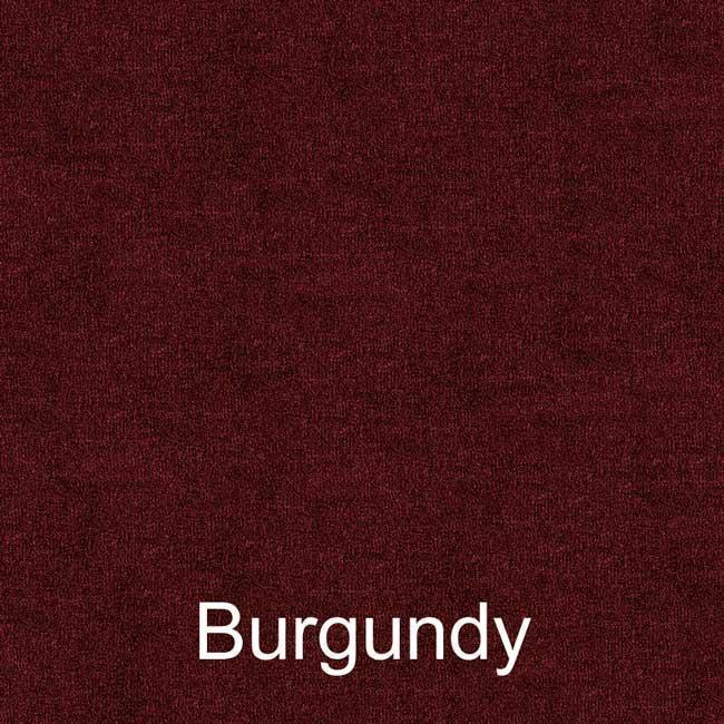 16oz burgundy bass boat carpet