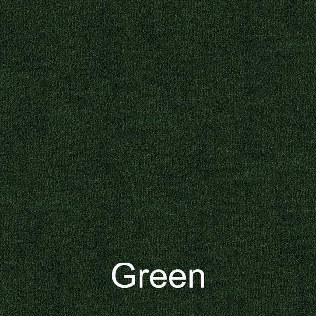 16oz green pontoon boat carpet