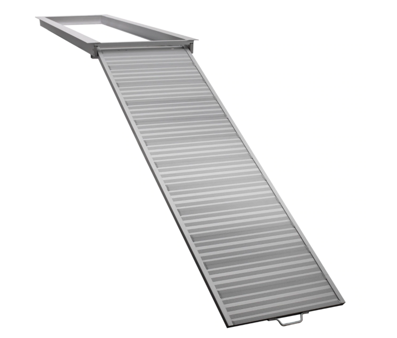 Pontoon Boat Aluminum Loading Ramp for Shore and Dock Boarding