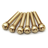 Brass bridge pins