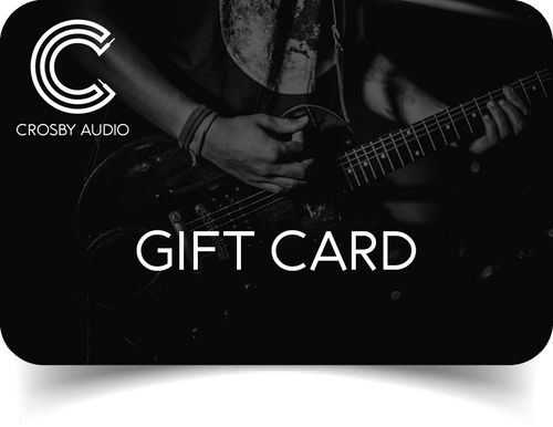 Gift Card - Crosby Audio