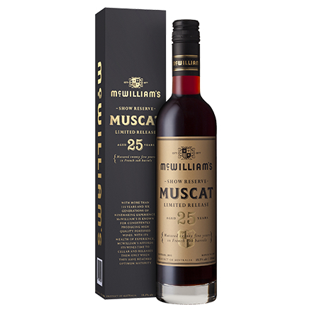 McWilliam's Show Reserve 25 Year Old Muscat