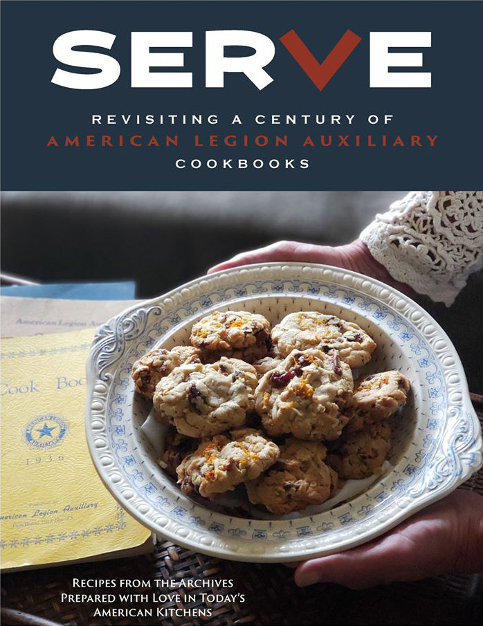 SerVe: Revisiting a Century of American Legion Auxiliary Cookbooks