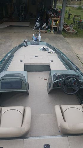 Bass Boat Restoration Images Stratos Boat Seats