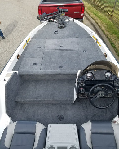 Bass Boat Restoration Images | Stratos Bass Boat Seats