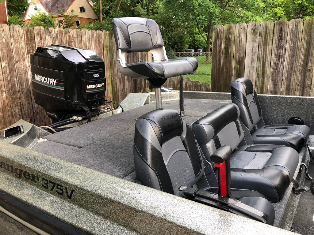 ranger bass boat seats and carpet