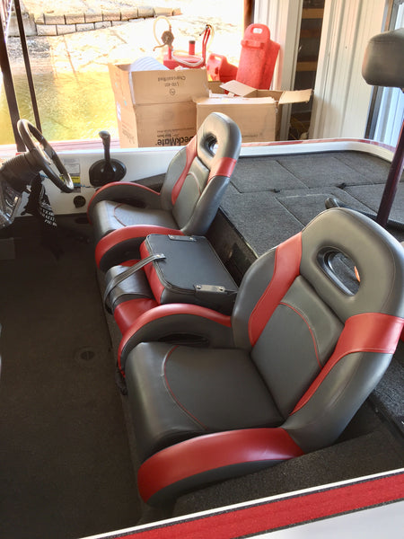 New Champion Bass Boat Seats