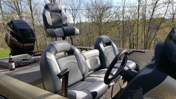 New Nitro Boat Seats
