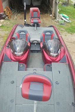 new triton boat seats