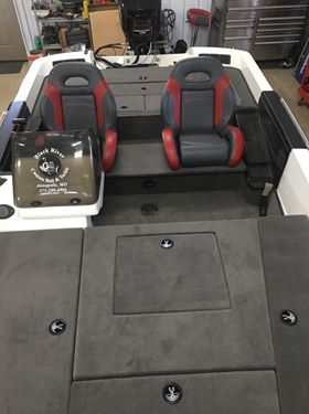 New Ranger Bass Boat Seats