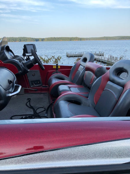 triton bass boat seats