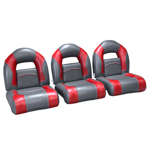 (Set Of 3) Nitro Boat Seats