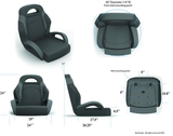 "Fish & Ski (60"" Rear Bucket Seats)"