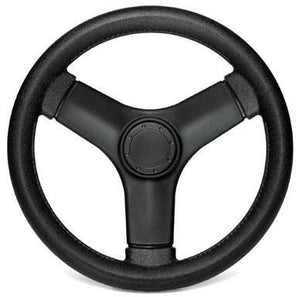 Black Bass Boat Steering Wheel