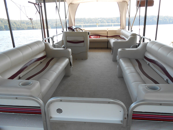 Replacement pontoon boat seating on Sundancer pontoon boat