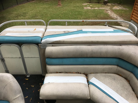 Replacement Pontoon Boat Seats | Lowe Pontoon Restoration