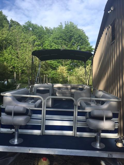 New Sylvan Pontoon Boat Seats