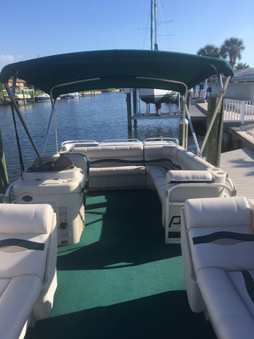 New Pontoon Boat Seats