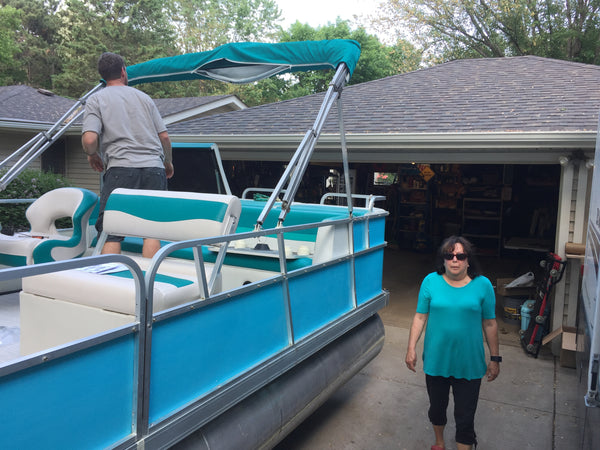 pontoon boat renovation