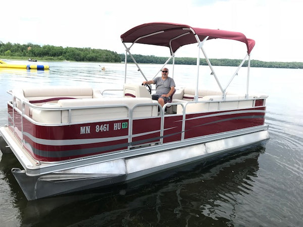 New pontoon boat
