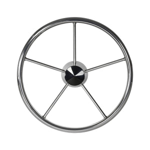 "15 1/2"" Destroyer Pontoon Steering Wheel"